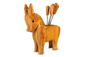Donkey fork holder