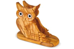 Owl-shaped napkin holder