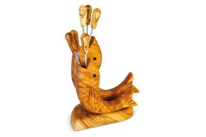 Fishes fork holder