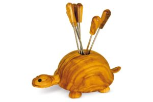 Turtle fork holder