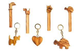 Bookmarks and key rings